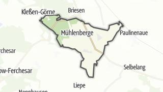 地图 / Mühlenberge