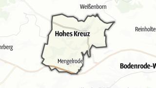 Map / Hohes Kreuz