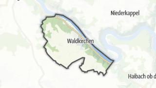 Cartina / Waldkirchen am Wesen
