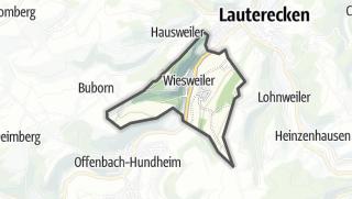 מפה / Wiesweiler