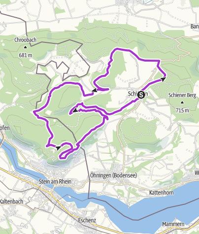 Karte / SBL  2015 20km PP -Litzels-Lunkenb-Hohenkl.-Blockh-Lädele