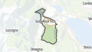 מפה / Gravellona Toce