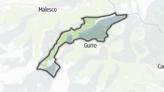 מפה / Cursolo-Orasso