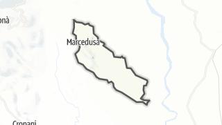 Mapa / Marcedusa