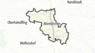 Cartina / Attenkirchen
