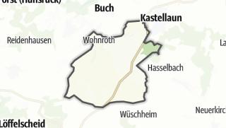 Karte / Bell (Hunsrück)