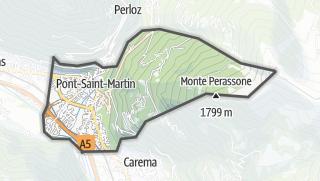 Karte / Pont-Saint-Martin
