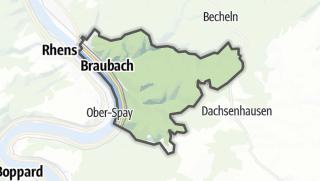 Cartina / Braubach