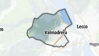 地图 / Valmadrera