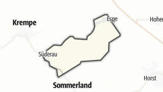 Map / Süderau