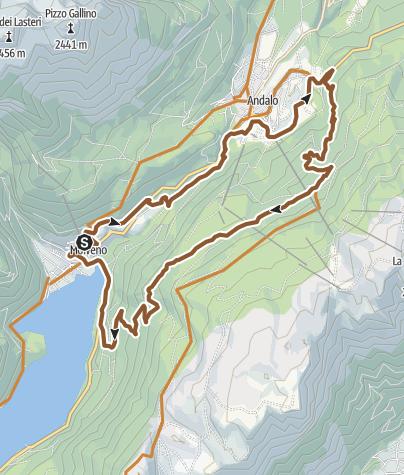 Map / 788 - A.d.Scudelle MTB