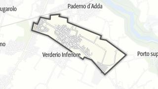 地图 / Verderio Superiore