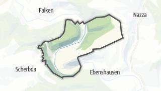 Mapa / Frankenroda