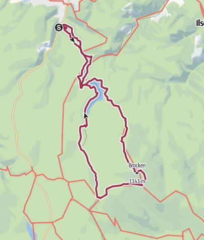 Map / Bad Harzburg-Teufelsstieg-Bad Harzburg