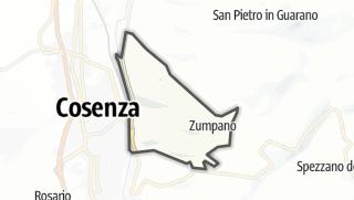 Mapa / Zumpano