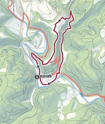 Karte / D1 Datzeroth