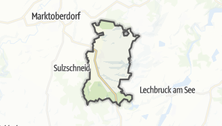 Map / Stoetten am Auerberg