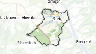 Cartina / Sinzig