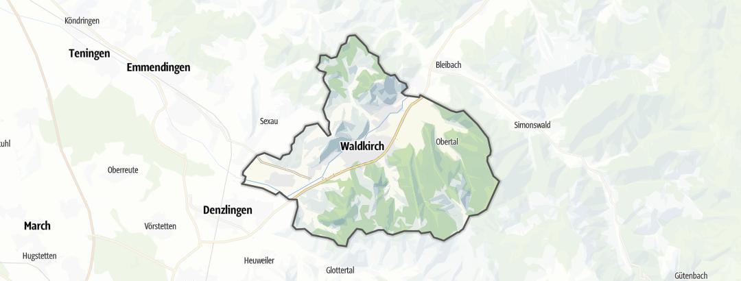 Hartă / Culinar in Waldkirch