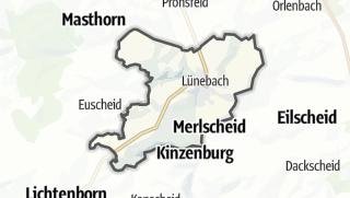 地图 / Lünebach