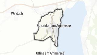 Mapa / Schondorf am Ammersee