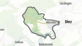 Cartina / Altendiez