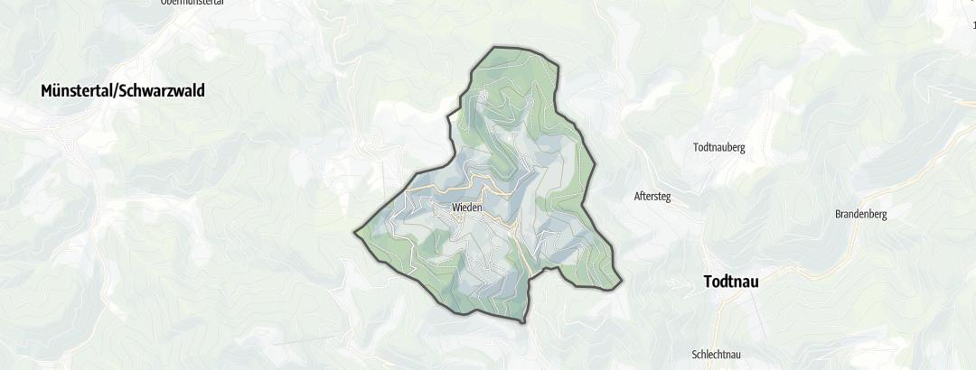 Mapa / Alojamiento en Wieden