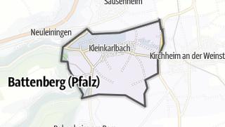 Mapa / Kleinkarlbach