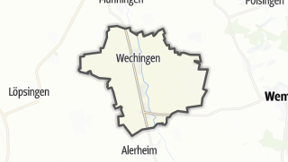 Carte / Wechingen