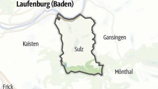 מפה / Sulz (AG)
