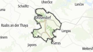Cartina / Drosendorf-Zissersdorf