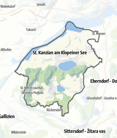 Map / Sankt Kanzian am Klopeiner See