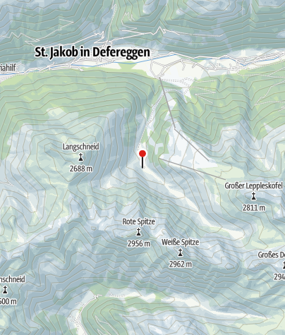 Karte / Brugger Alm