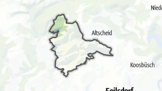 Karte / Weidingen