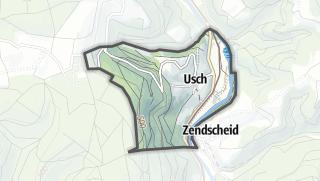 Karte / Usch