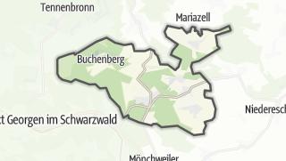 地图 / Königsfeld im Schwarzwald