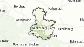 Mapa / Blankenburg (Harz)