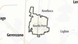 Hartă / Rovello Porro