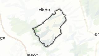 Mapa / Oberscheidweiler