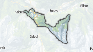 Karte / Tiefencastel