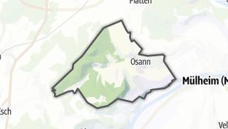 Mapa / Osann-Monzel