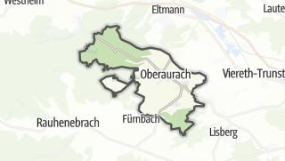 Mapa / Oberaurach