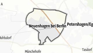 Cartina / Neuenhagen