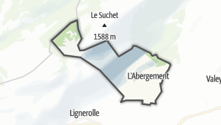 Карта / L'Abergement
