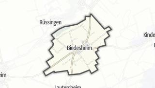 Cartina / Biedesheim