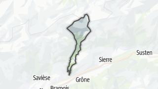 Mapa / Icogne