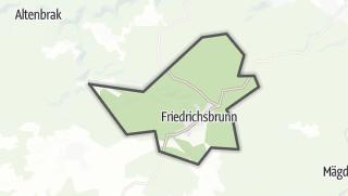 Mapa / Friedrichsbrunn