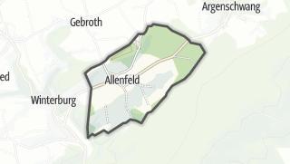Karte / Allenfeld