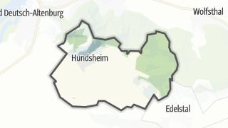 Carte / Hundsheim