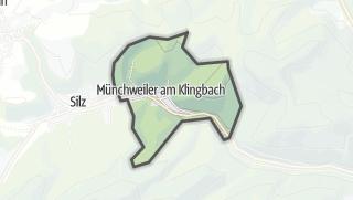 Mapa / Münchweiler am Klingbach